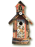 Old School Birdhouse - Fowl Places