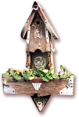 Birdhouse Planter - Fowl Places